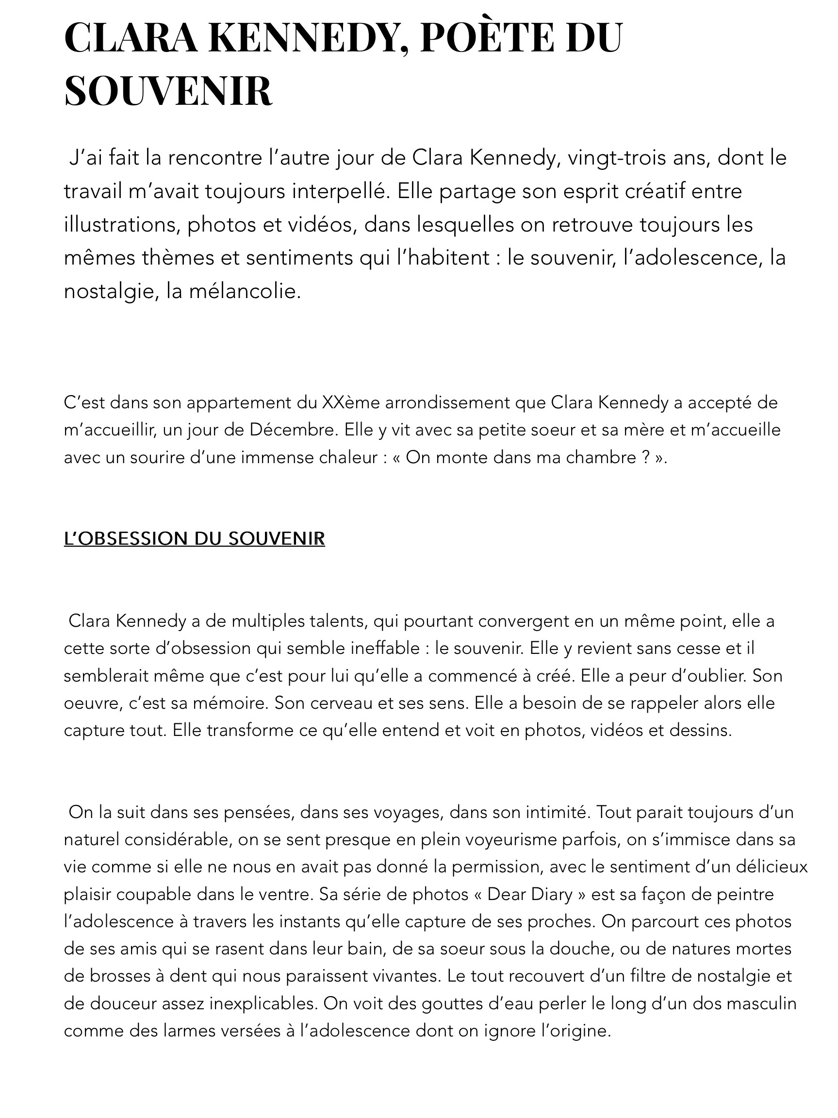 CLARA KENNEDY, POÈTE DU SOUVENIR copie 2
